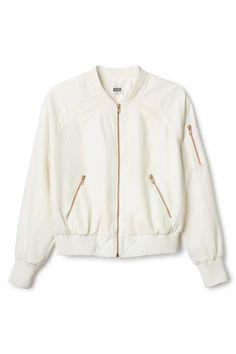 Weekday | New Arrivals | Marigold bomber jacket