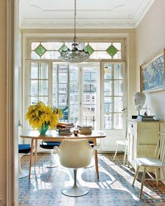 a dining room OR/AND a work space