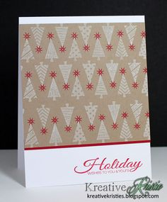 Kristie Goulet featuring Holiday Trimmings stamp set from SOA Holiday Magic Collection