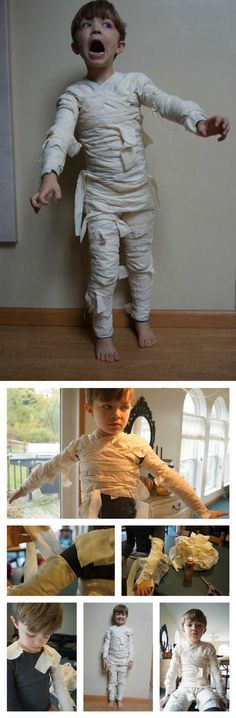 The Mummy | Scary and Cute Looks For Kids And Adults by DIY Ready at http://diyready.com/9-diy-mummy-costume-ideas/
