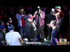 DON'T FLOP - Rap Battle - Dialect  Zen Vs Bowski  Big Sarters
