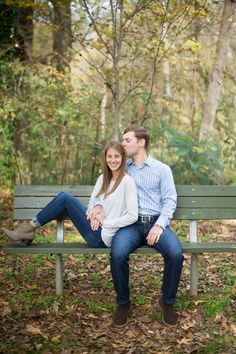 Chastain Park Engagement Photos