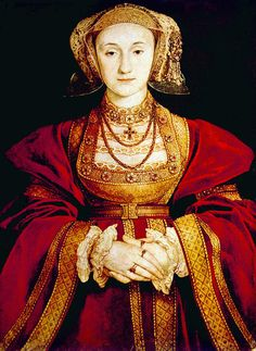 Queen Anne Of Cleves (1515-1557) Fourth wife of King Henry. King Henry VIII found her so unappealing that he failed to consummate the union.