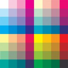 Classic Comics Color Guide. This includes swatch palettes covering everything from Golden Age colors up to modern day.