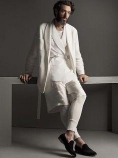 La Perla Launches Men's Loungewear + Beachwear for Spring/Summer 2015 Lingerie For Men, Luxury Lingerie, Mens Catalogue, Unisex Fashion, Mens Fashion, Fashion Wear, Mens Sleepwear, Men's Loungewear, Beach Wear