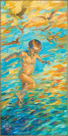 2016 Let There Be Light Art Show: Let us make mankind in our image, in our likeness, so that they may rule over the fish in the sea and the birds in the sky..., by Alexandra Nelipa
