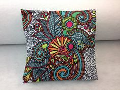 Housse de coussin fait à la main Handmade Cushions, Handmade, Slipcovers, Hands