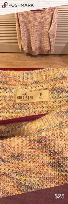 hollister sweater worn once, super comfy and cute, size medium Hollister Sweaters