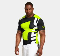 db6cca689b Men's UA Branded Compression Shirt Under Armour Men, Apparel Design, Gym  Wear, Ua