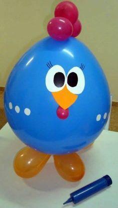 Farm or spring themed party Chicken themed balloon Balloon Crafts, Balloon Decorations, Birthday Party Decorations, Birthday Parties, Orange Balloons, Red Balloon, Farm Party, Balloon Animals, Birthday Balloons