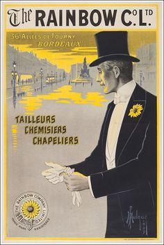 The Rainbow Company Limited - tailleurs, chemisiers, chapeliers - allées de Tourny, Bordeaux - 1909 - (Mulzac) -