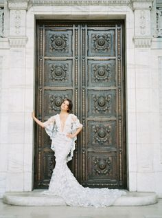 The Tale of a Marchesa Gown and the New York City Public Library
