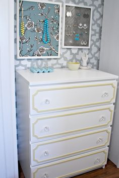 Updating a plain dresser with overlays