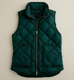 green vest -- I've wanted this one or the navy one for months but they don't carry it anymore