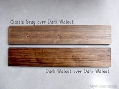 68 Ideas Rustic Wood Stain Diy Hardwood Floors For 2019 Best Wood Stain, Diy Wood Stain, Minwax Stain Colors, Rustic Wood Crafts, Floor Stain, Wood Pallet Signs, Into The Woods, Dark Walnut Stain, Diy Holz