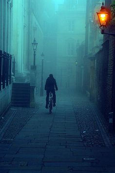Foggy Morning, Cambridge, England
