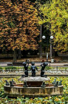 Sofia Bulgaria, Street Art, Sidewalk, Country, Memorie, Beautiful, Rural Area, Country Music, Pavement