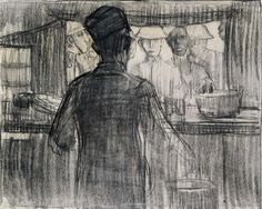 A.R.C. Canteen, World War I 1918 Henry Ossawa Tanner (Smithsonian archives)