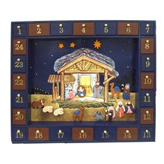 Have to have it. 25-Piece Nativity Advent Calendar Set - 16.75-Inch $119.99