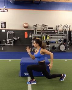 """21k Likes, 1,131 Comments - Alexia Clark (@alexia_clark) on Instagram: """"PLYO WORK  1. 5-10 each side 2. 60 seconds  3. 10 each side  4. 30seconds each leg  3-5 rounds…"""""""