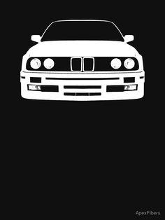 """White e30"" Unisex T-Shirt by ApexFibers | Redbubble"