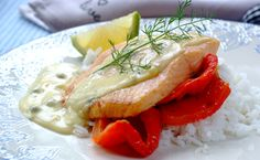 Enjoy the light, delicate flavours of grilled trout served with a salad or roasted vegetables. Grilled Trout, Posh Nosh, Seafood Dinner, Dinner Meal, Trout Recipes, My Cookbook, Fabulous Foods, Roasted Vegetables