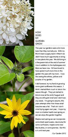 Ideas for Scrapbooking Gardening and Yardwork   Tara McKernin   GetItScrapped