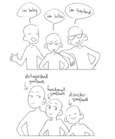 everyone's talking about their favourite ship dynamics and as usual, i only have one thing to contribute Ship Drawing, Drawing Base, Manga Drawing, Character Art, Character Design, Draw The Squad, Drawing Expressions, Art Base, Drawing Reference Poses
