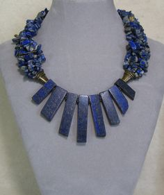 Chinese Natural Lapis Lazuli /& Red Coral Hand woven Necklaces /& Pendant