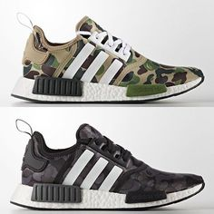 98c1e59ba7007 shoes for men - chaussures pour homme - sneakers - boots - BAPE x adidas  NMD - We reveal the news in sneakers for spring summer 2017