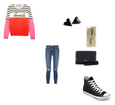 """""""Untitled #283"""" by destiniepaige2001 ❤ liked on Polyvore featuring Chinti and Parker, Frame, Converse, Kate Spade and Miss Selfridge"""