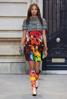 Chanel Spring Summer 2015 Womenswear Collection