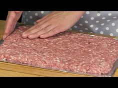 Carne Picada, Clean Eating Recipes, Yummy Food, Beef, Make It Yourself, Food And Drink, Dinner, Youtube, Steak Rolls