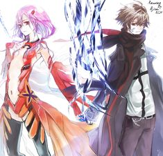 making love to you Guilty Crown Wallpapers, Manga Anime, Anime Art, Bride Of The Water God, Crown Images, Inori Yuzuriha, Realm Reborn, Digital Art Anime, Making Love