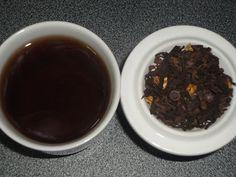 Día 1: Té rojo con chocolate y naranja