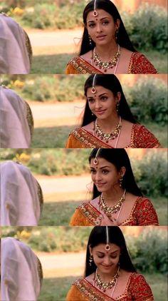 Indian Aesthetic, Indian Bridal Outfits, Vintage Bollywood, Aishwarya Rai, Pure Beauty, Wedding Photoshoot, Wedding Engagement, Harry Potter, Films