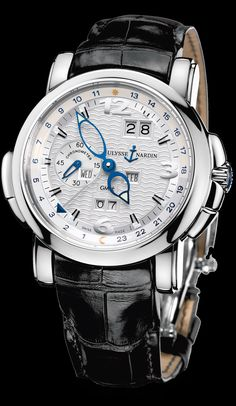 Vintage Watches - GMT /- Perpetual - Perpetual Calendars - Functional - Welcome to the Ulysse Nardin collection - Ulysse Nardin - Le Locle - Suis. Amazing Watches, Beautiful Watches, Cool Watches, Army Watches, Fine Watches, Stylish Watches, Luxury Watches For Men, Ulysse Nardin, Le Locle