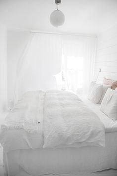 All White Bedroom, White Bedrooms,
