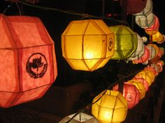 Lighted Lanterns by gliuoo: Seoul, KR, 2008 #Photography #Lanterns #Seoul #gliuoo