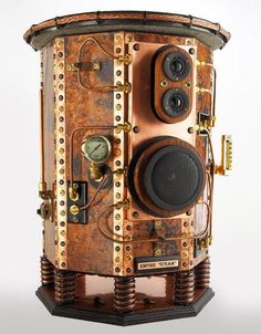 Empire Steampunk Speakers