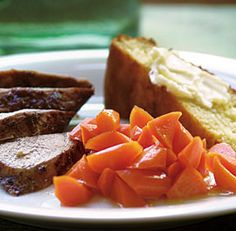 Maple-Glazed Carrots
