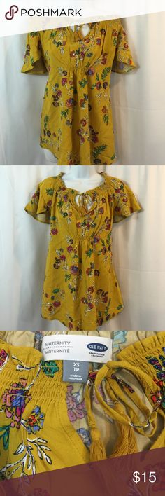 Brand New Old Navy XS Maternity Top Brand New Old Navy XS Maternity Top Old Navy Tops