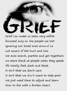 For clients who have lost a parent / child / or spouse ! Sometimes you need to visit the deepest part of their loss and sorrow.