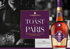 Paris Food & Drink Events: Masterclass Courvoisier: Toast of Paris 2018 w/ Rebecca Asseline February 27 @ 15:00 - 17:00