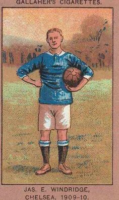 Jas E.. Woodbridge of Chelsea in 1909.