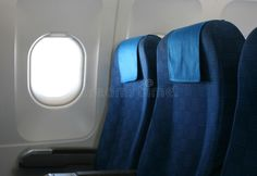Photo about Airplane seat and window inside an aircraft. Image of class, transport, cabin - 11955501 Airplane Seats, Airplane Window, Airplane Interior, Display Ideas, Offices, Aircraft, Windows, Cabinet, Life