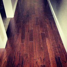 laminated floor .
