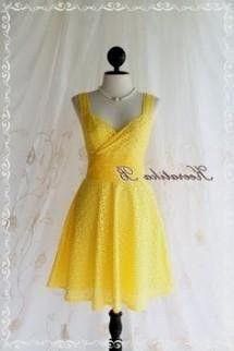 Yellow Sundress on Pinterest | Denise Milani, Purple Sundress and ...