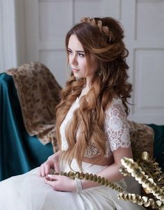 princess braided bridal hairstyles - Deer Pearl Flowers
