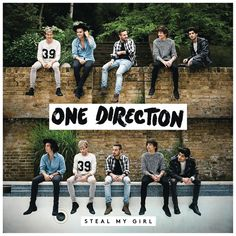 Caratula Frontal de One Direction - Steal My Girl (Cd Single)